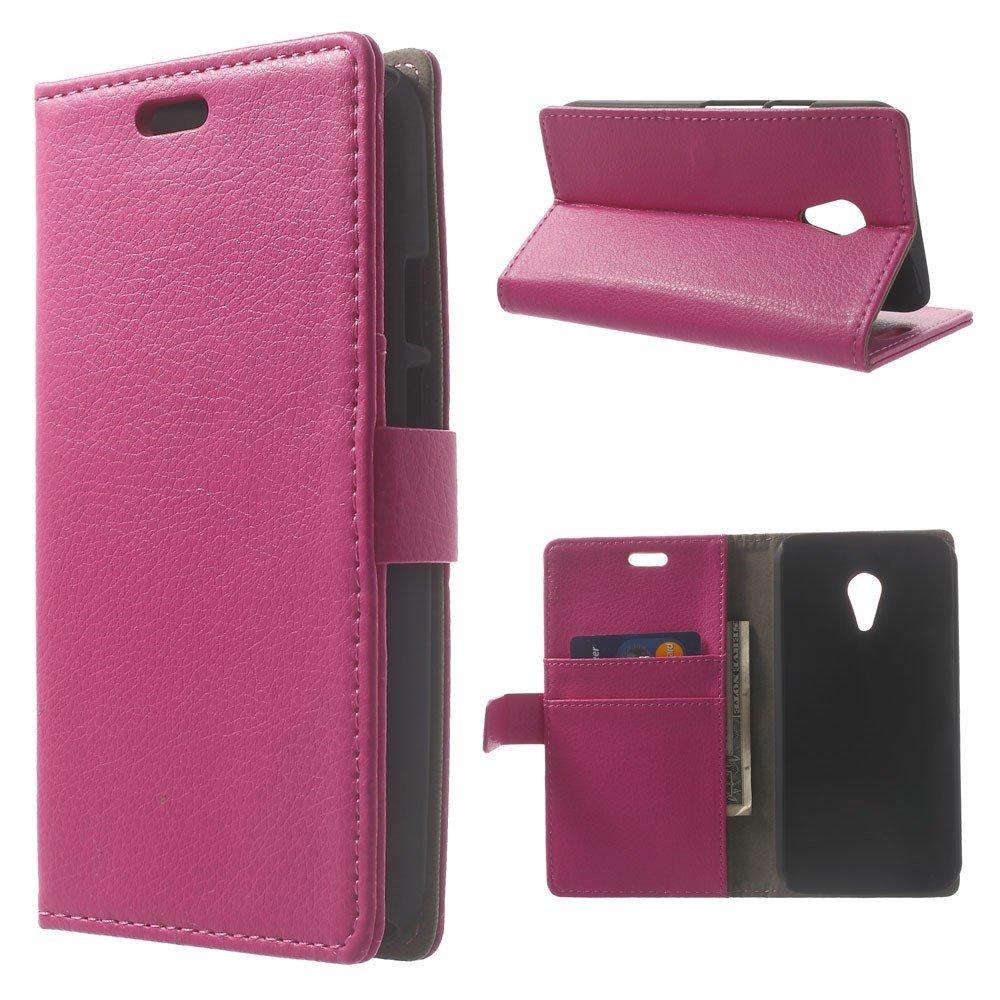 Billede af Motorola Moto G2 Luksus Flip Cover m. Pung - Pink