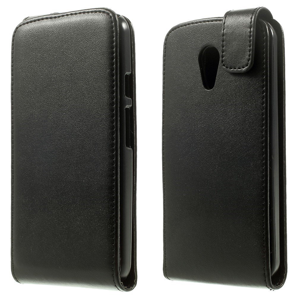 Billede af Motorola Moto G2 Vertical Flip Cover m. Magnetlukning - Sort