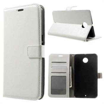 Billede af Nexus 6 Modern Flip Cover Med Pung - Hvid