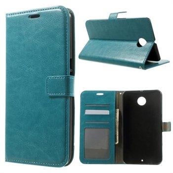 Billede af Nexus 6 Modern Flip Cover Med Pung - Blå