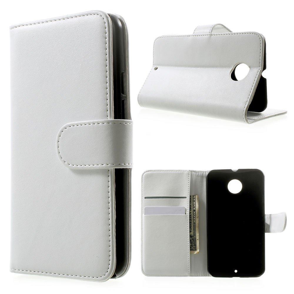 Image of Motorola Moto X2 Flip Cover m. Stand - Hvid
