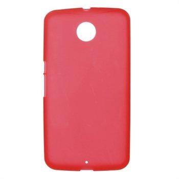 Nexus 6 inCover TPU Cover - Rød