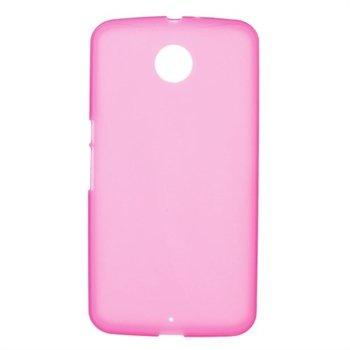 Nexus 6 inCover TPU Cover - Rosa