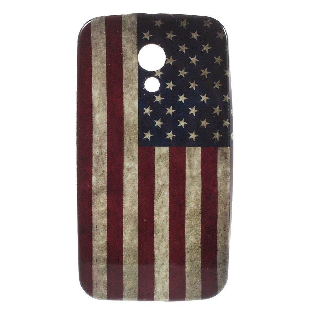 Billede af Motorola Moto G2 inCover TPU Cover - Stars & Stripes