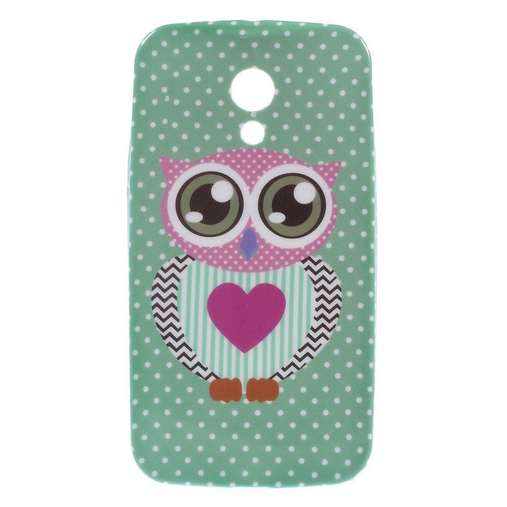 Billede af Motorola Moto G2 inCover TPU Cover - Owl