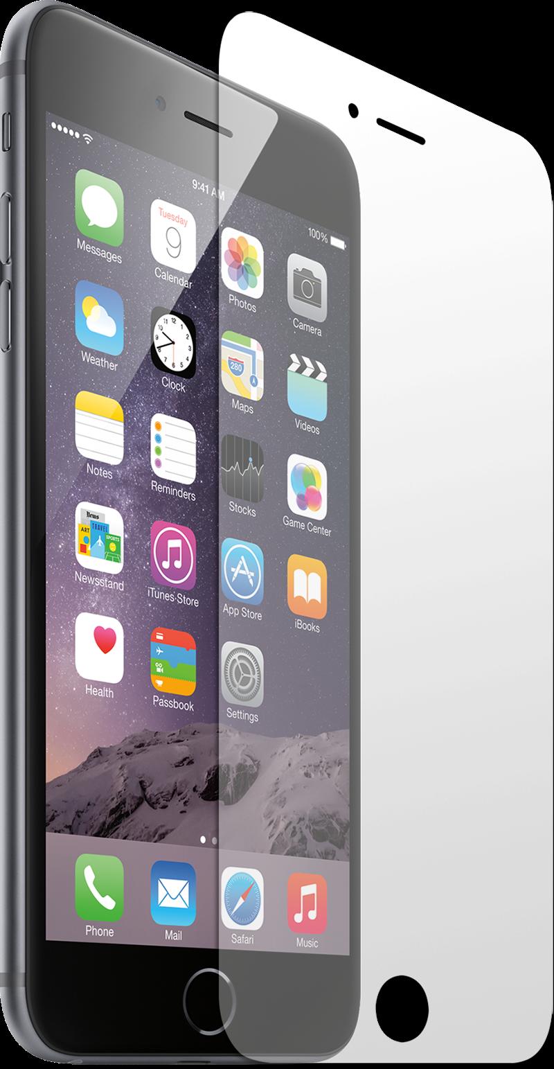 Image of Apple iPhone 6/6s Copter Skærmbeskyttelse (afgrænset)