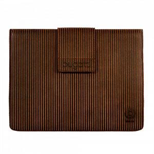 Billede af Bugatti® Basic lædertaske til Apple iPad 2, 3 og 4 - brun