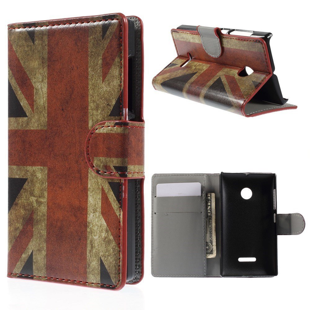 Image of Microsoft Lumia 532 Design Flip Cover - Union Jack