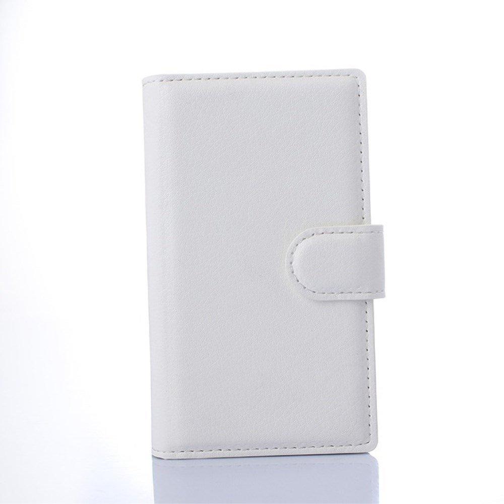 Microsoft Lumia 532 Smart Flip Cover m. Stand - Hvid