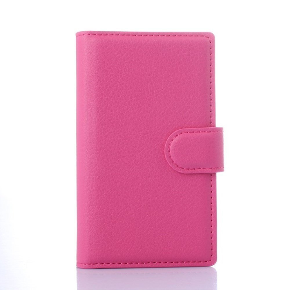 Microsoft Lumia 532 Smart Flip Cover m. Stand - Pink