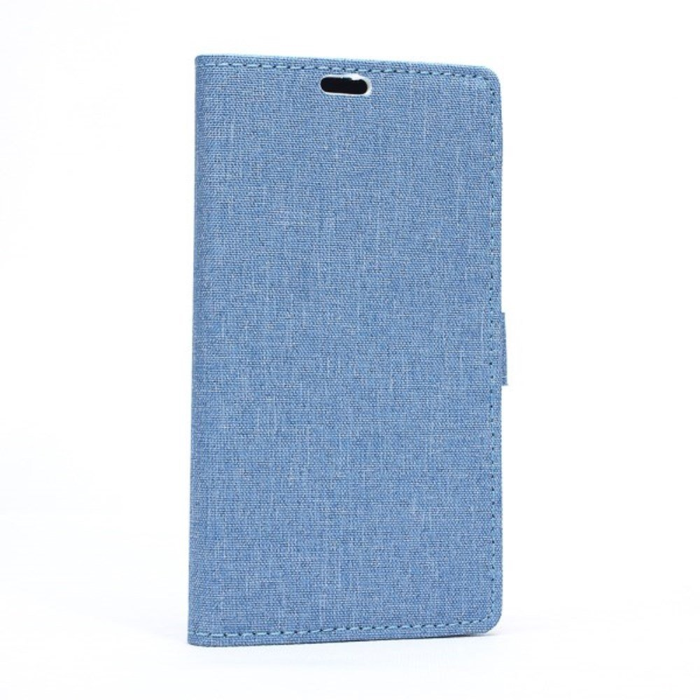 Image of Microsoft Lumia 640 XL Flip Cover m. Pung/Stand - Blå