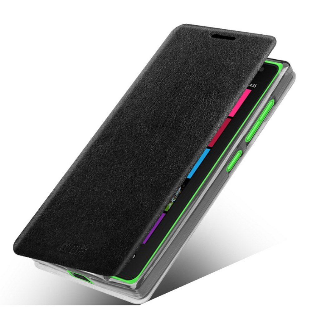 MOFI Rui Læder Cover til Microsoft Lumia 532 - Sort