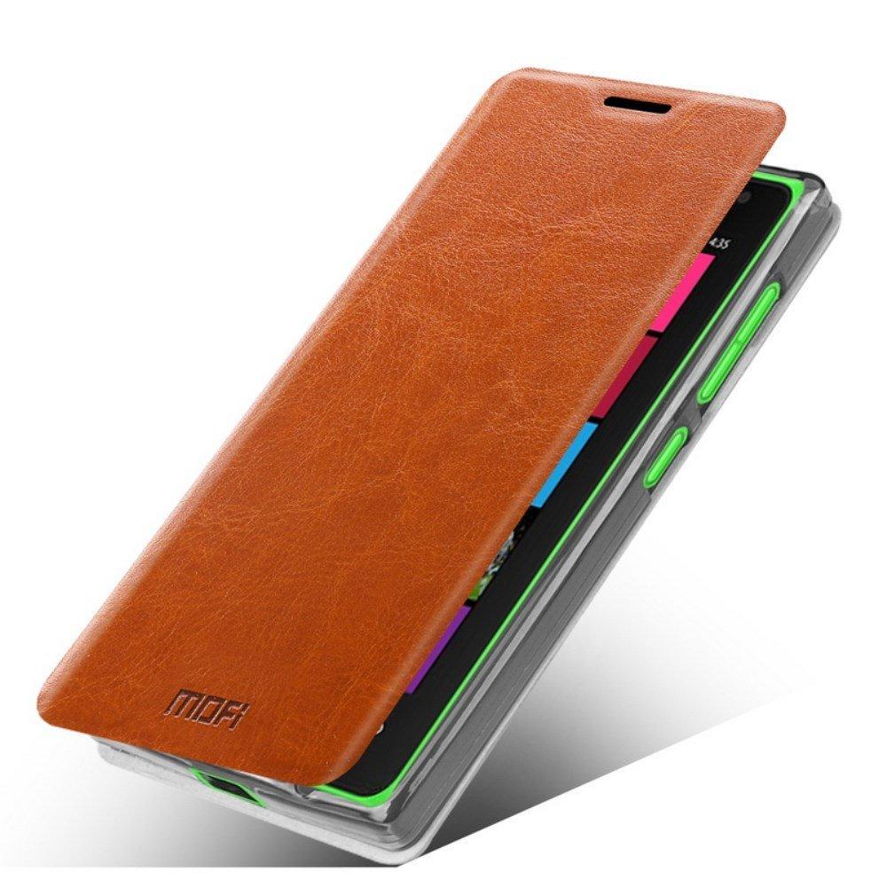 MOFI Rui Læder Cover til Microsoft Lumia 532 - Brun