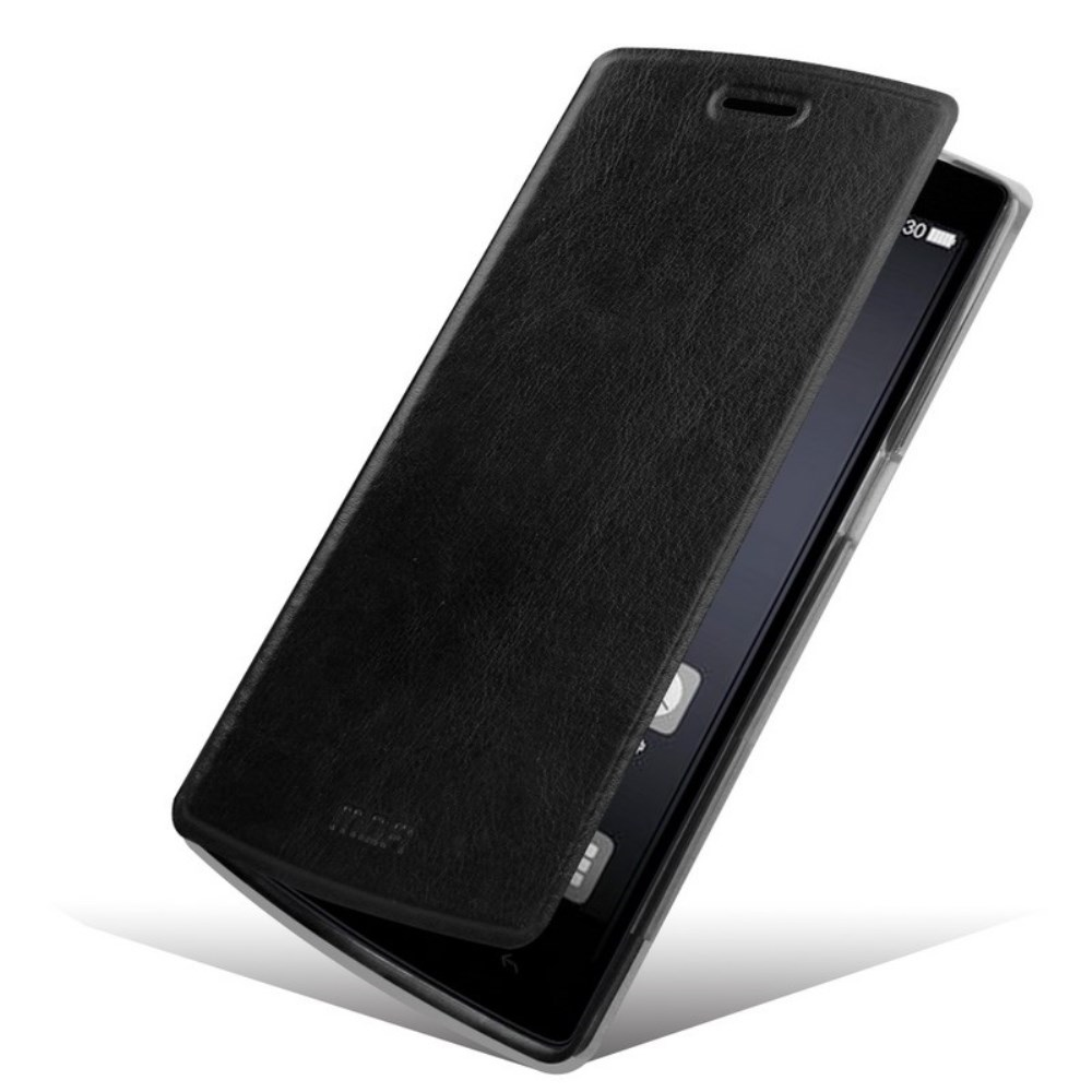 MOFI OnePlus One Flip Cover - Sort
