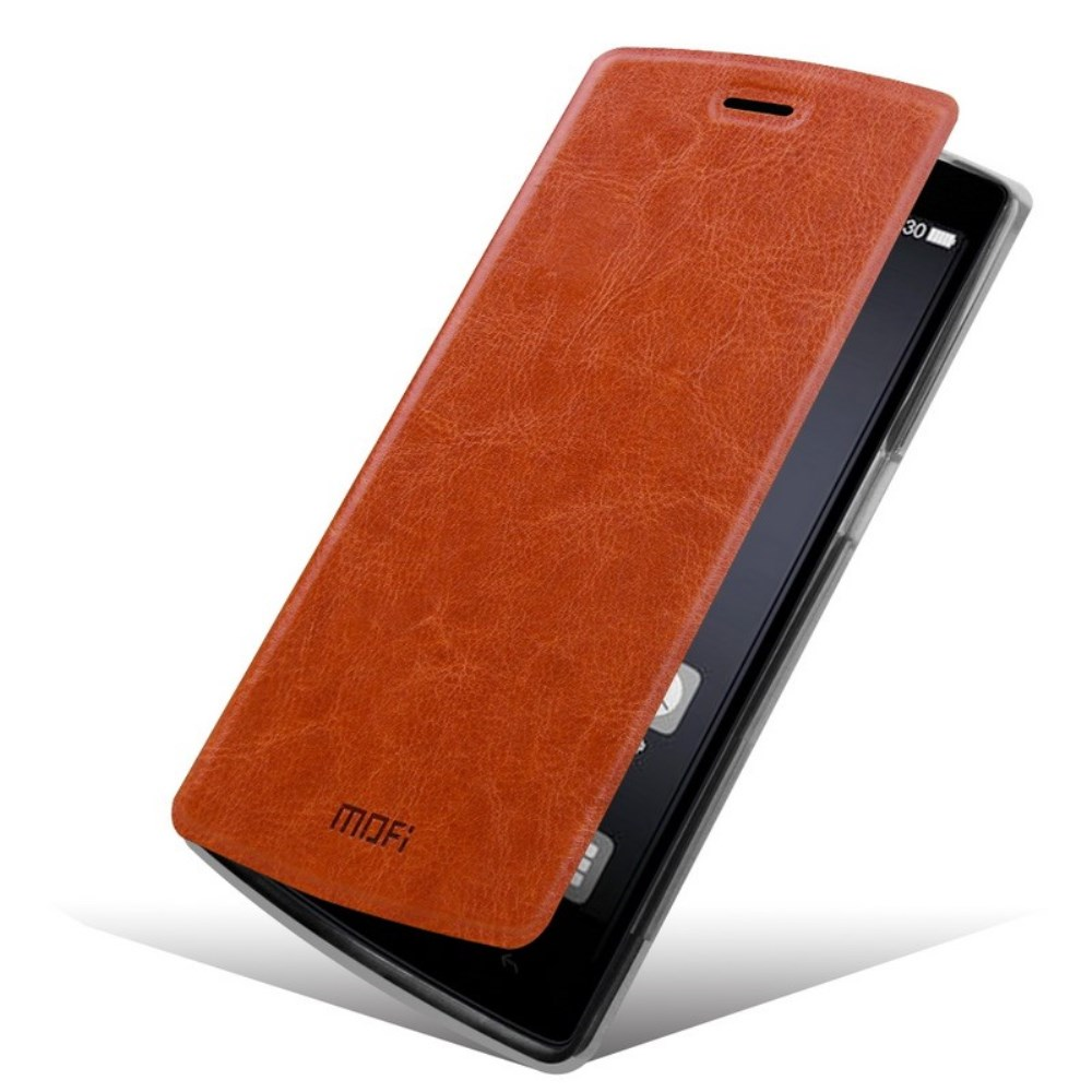Image of MOFI OnePlus One Flip Cover - Brun