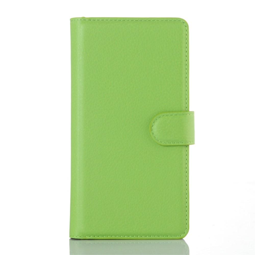 OnePlus 2 Design Flip Cover Med Pung - Grøn