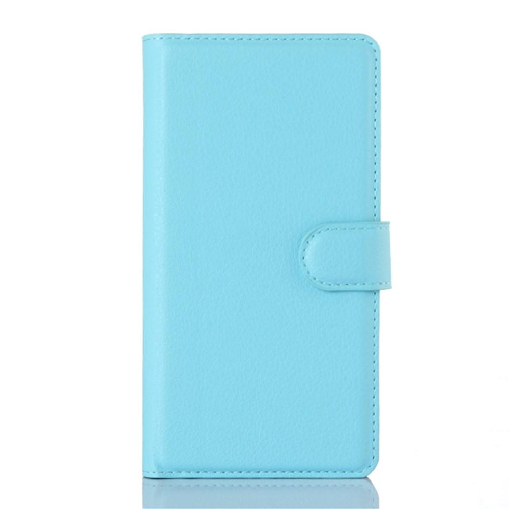 OnePlus 2 Design Flip Cover Med Pung - Lys blå