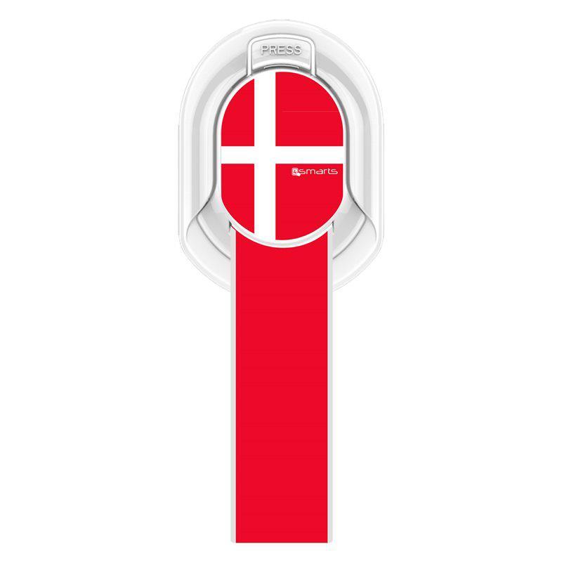 Image of   4smarts Finger Strap m. Aftagelig Magnet Design - Rød