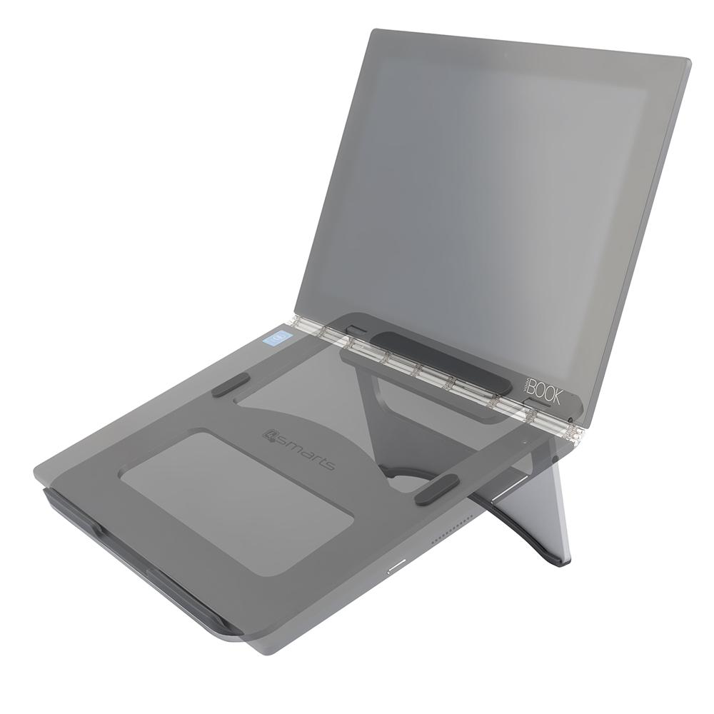 "Image of   4smarts Laptop Aluminium Stand 12-17"" - Silver"