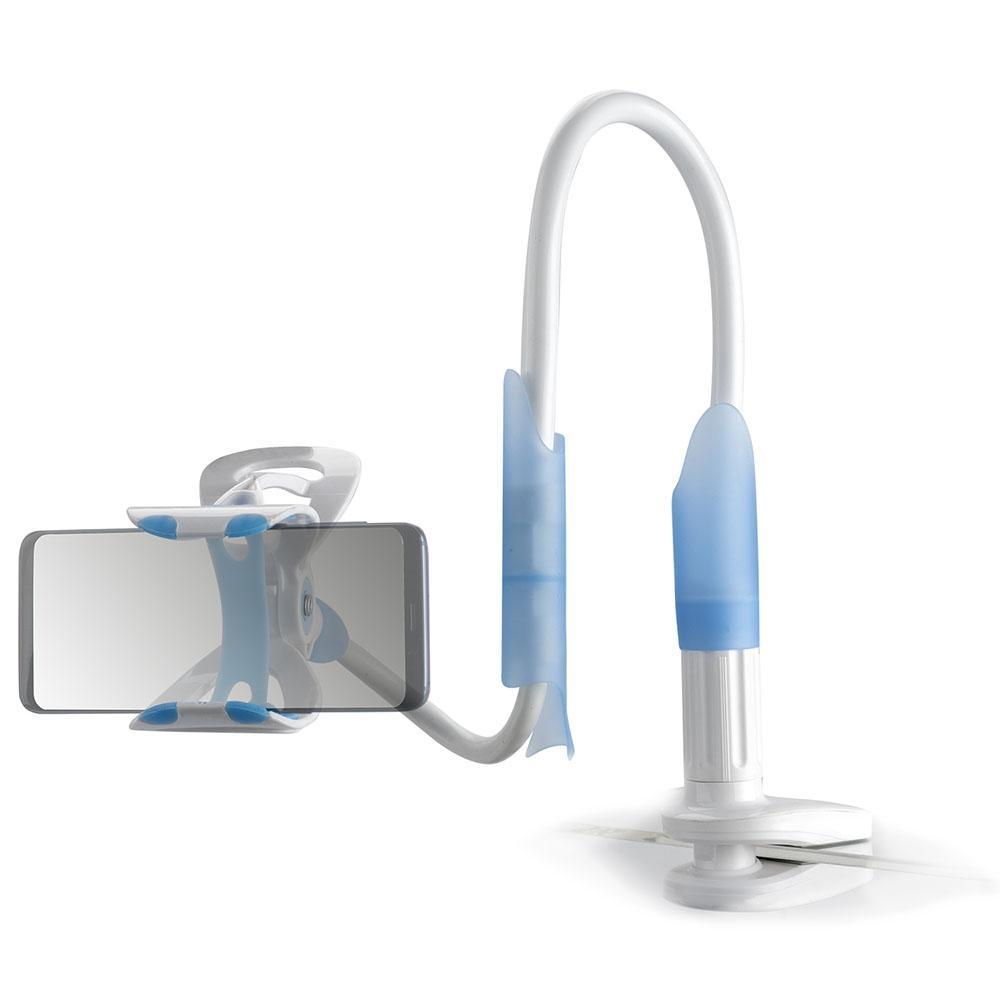 Image of   4smarts Flexarm Mount for Smartphones - Hvid / Lyseblå