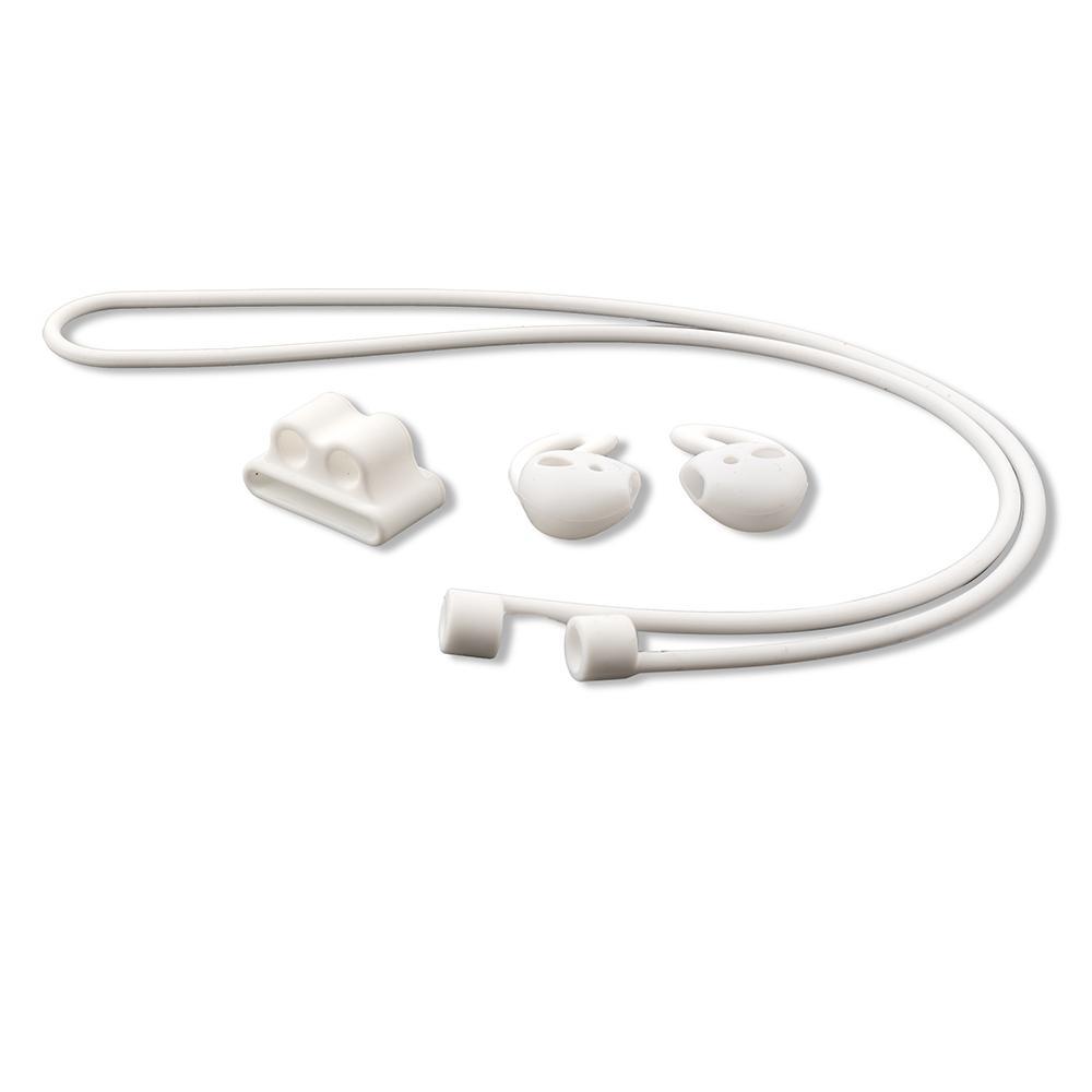 Image of   4smarts 3in1 Equipment Set til Apple AirPods - Hvid