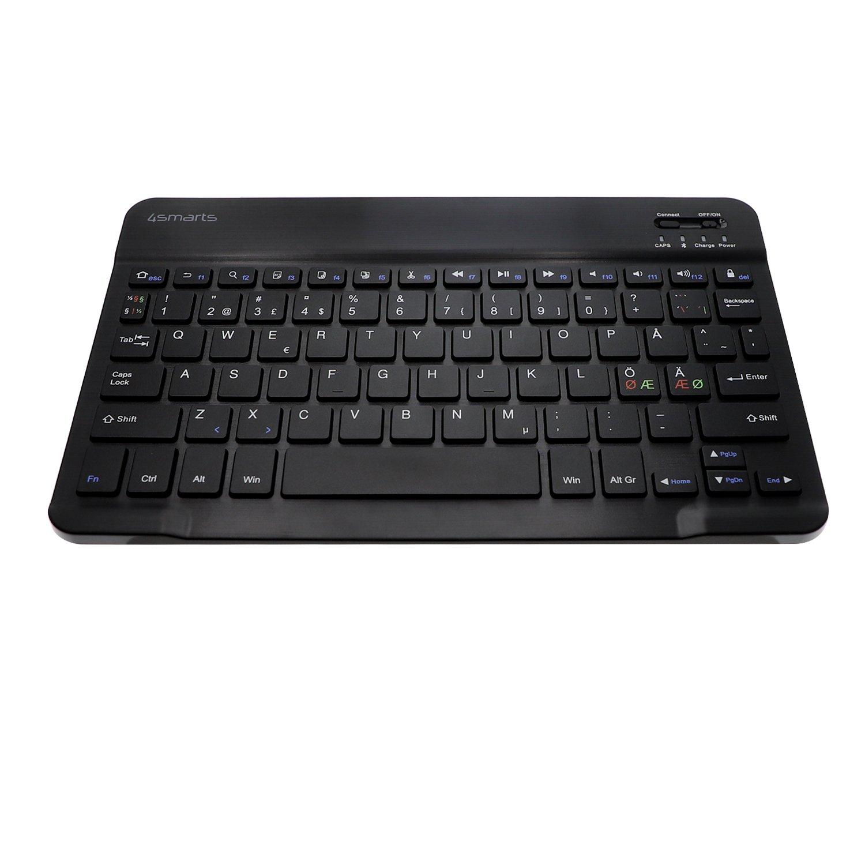 Image of   4SMARTS DailyBiz Bluetooth Universal iOS Tastatur m. Dansk Layout - Sort