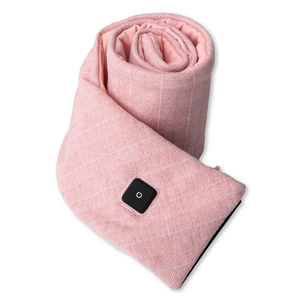 Billede af 4Smarts Halstørklæde m. Opvarmnings Funktion & Powerbank - Lyserød