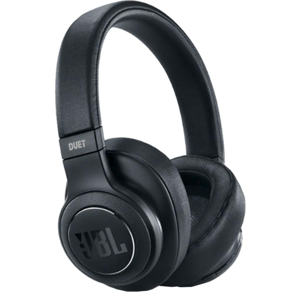 Billede af JBL DUET Noise-Cancelling Wireless Over-Ear Headphones - Matte Black