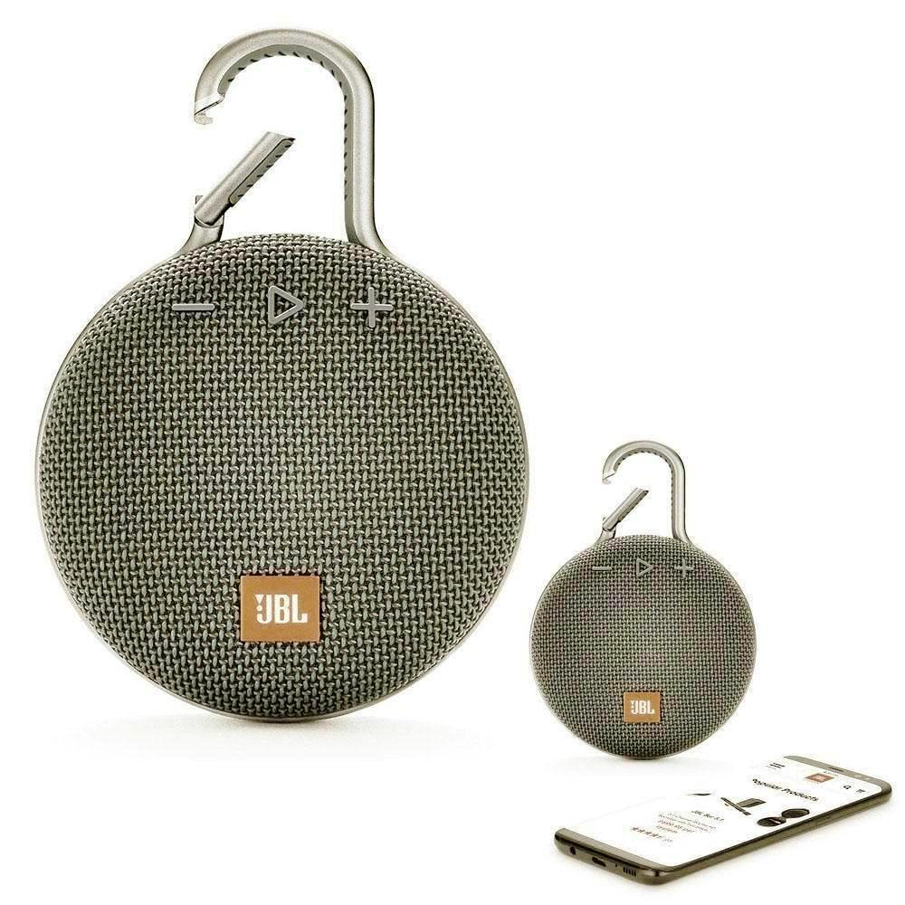 JBL CLIP 3 Bluetooth Waterproof Trådløs Vandtæt Højttaler – Green