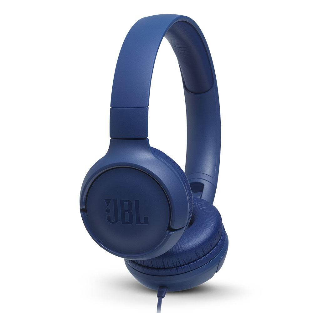 Billede af JBL TUNE 500 On-Ear Hovedtelefoner - Blå