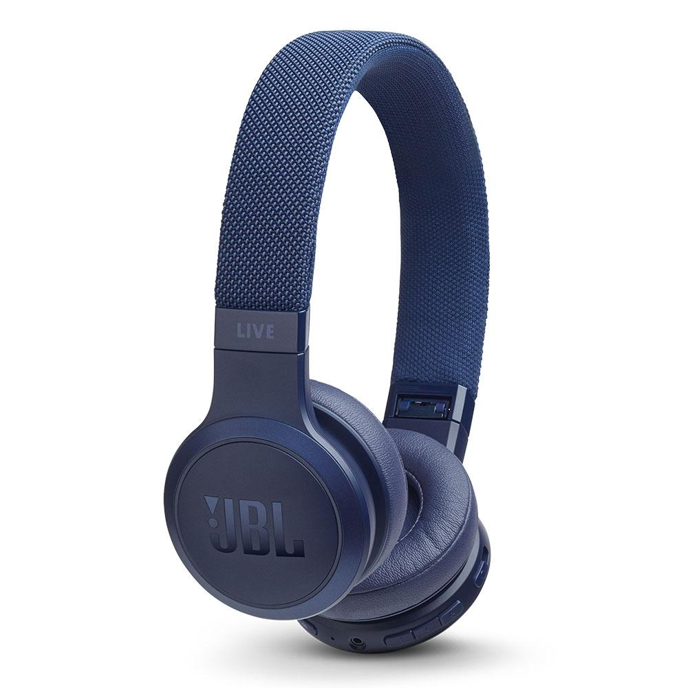 Billede af JBL Live 400BT On-Ear Hovedtelefoner m. Smart Assistent - Blå