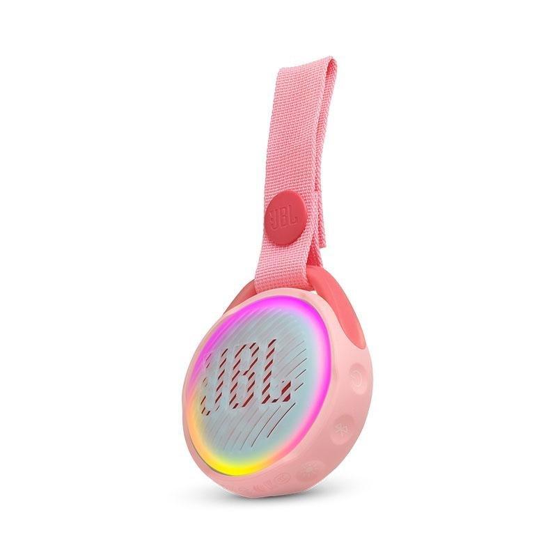 JBL JR POP – Kids Portable Bluetooth Speaker – Vandtæt Højttaler – Lyserød