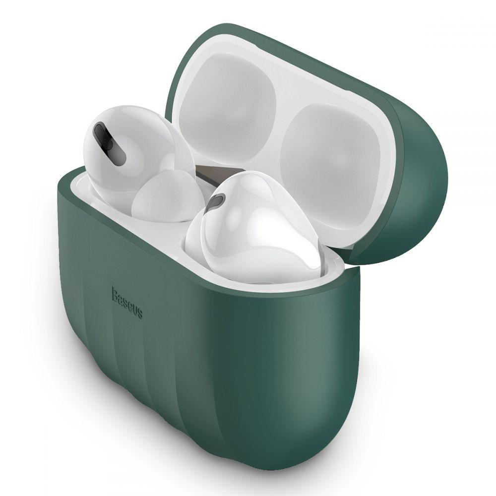 Image of   Baseus Apple Airpods Pro Charging Case Silikone Cover - Grøn