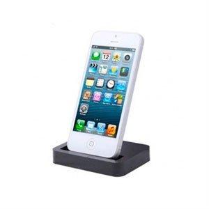 Image of Apple iPhone 5 dock og bordlader - sort