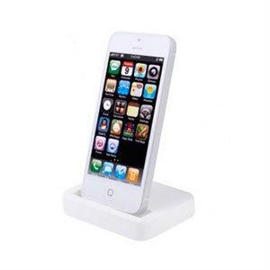 Apple iPhone 5 dock og bordlader - hvid