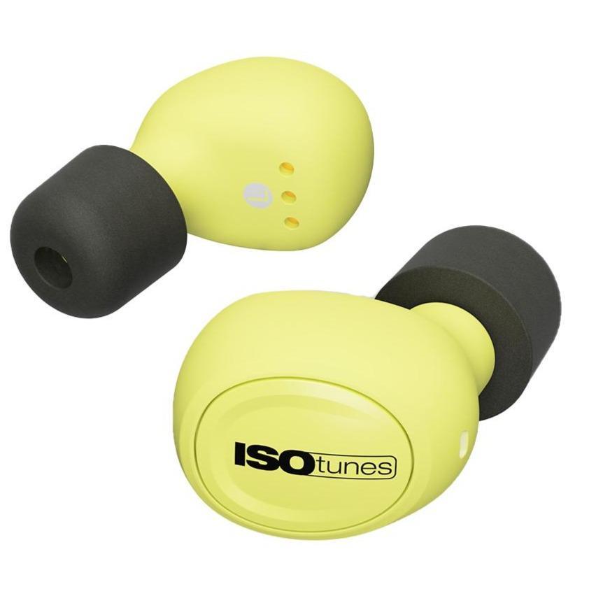 Billede af ISOtunes Free EN352 True-Wireless Bluetooth Høreværn - Sort / Grøn