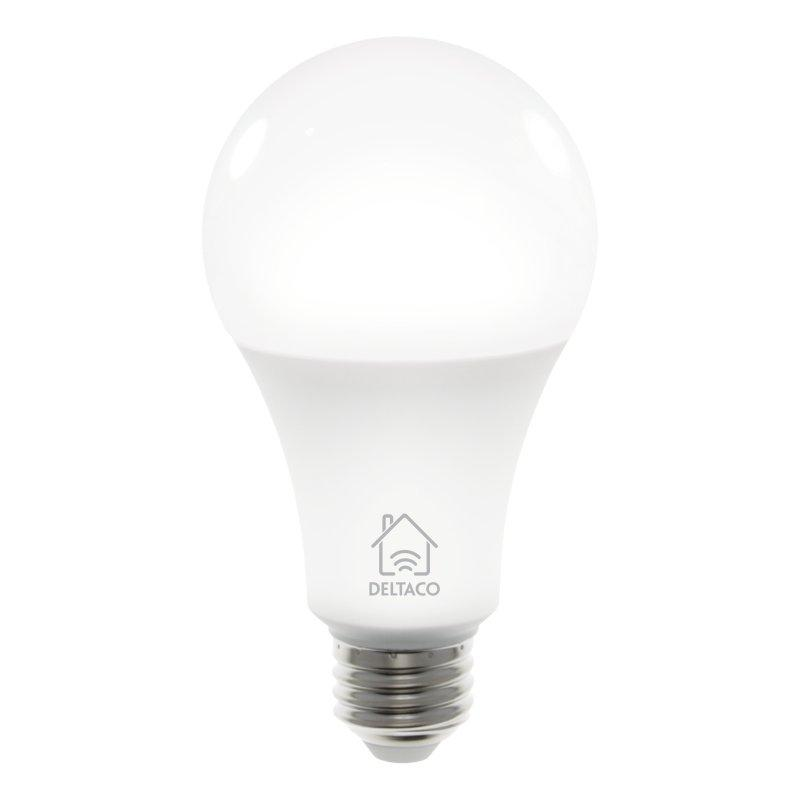 Image of   Deltaco Smart Home E27 Smart Bulb 9W - Hvid