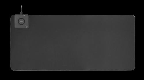 Billede af Deltaco Office XL Musemåtte m. Trådløs Oplader 90 x 40 cm - Sort