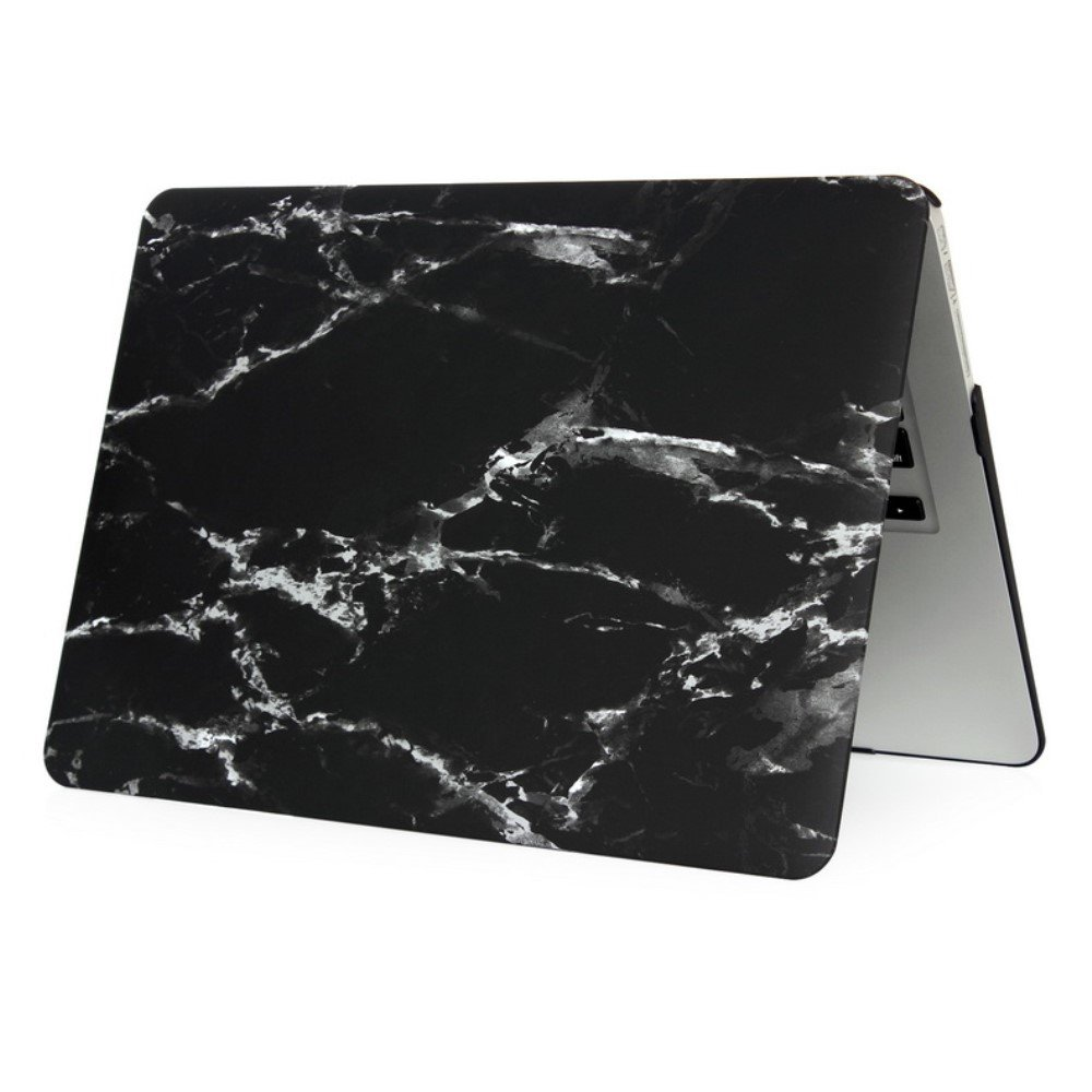 Image of   Macbook Air 11.6 Inch Marmor Cover - Sort/hvid