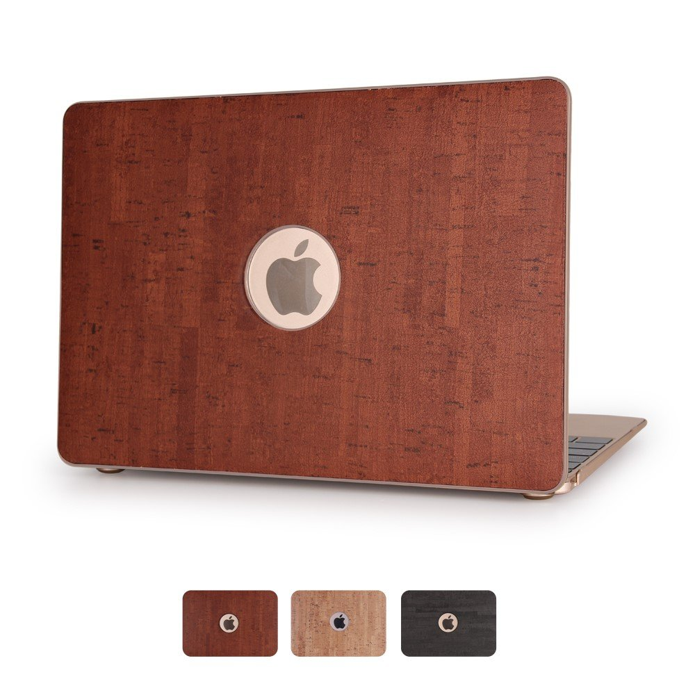 Image of   Macbook Pro 13.3 Inch Træ Cover - Brun