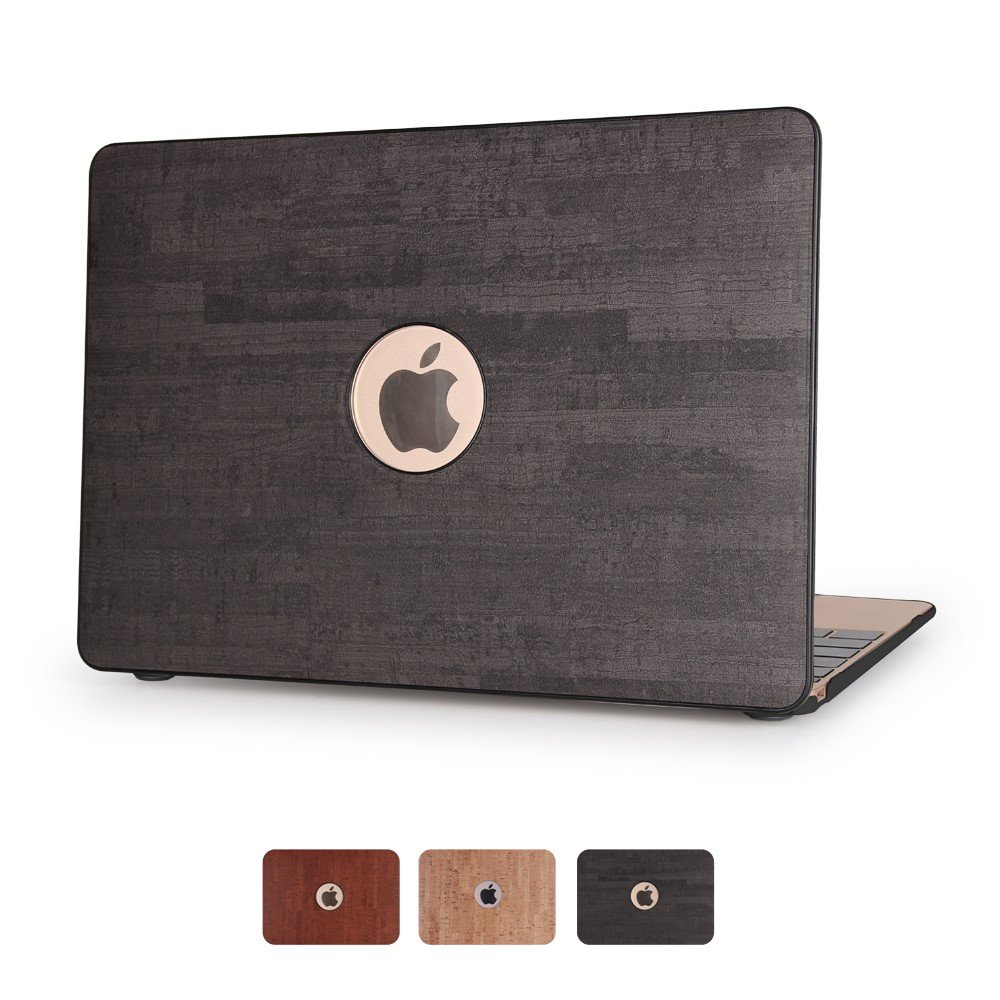 Image of   Macbook Air 11.6 Inch Træ Cover - Sort