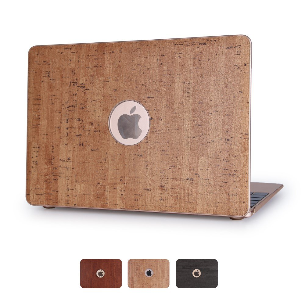 Image of   Macbook Air 11.6 Inch Træ Cover - Khaki