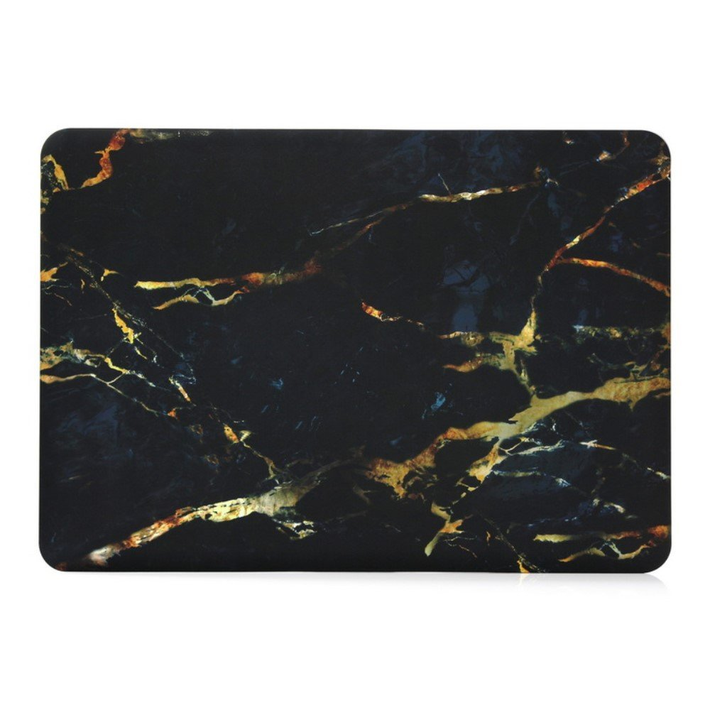 Image of   Macbook Pro 13.3 Inch Marmor Cover - Sort/guld