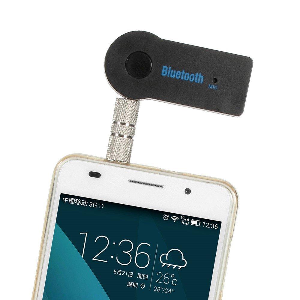 Image of Bluetooth Music Receiver m. 3,5mm Stik - Sort