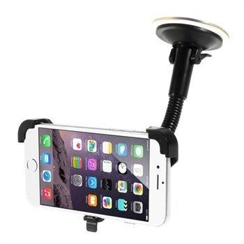 Image of   Apple iPhone 6 / 6s / 7 / 8 / SE (2020) Bilholder Med Sugekop