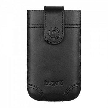 Image of   Bugatti Dublin Leather Luksus Mobiltaske/Etui - Sort Læder