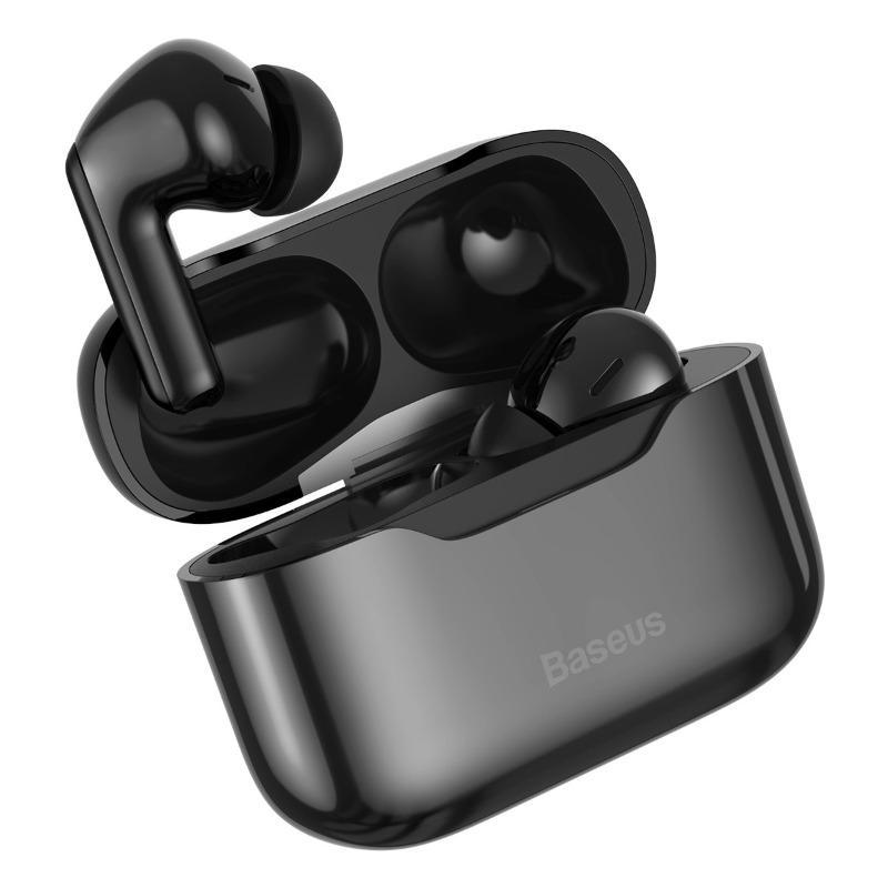 Billede af Baseus SIMU S1 Bluetooth True-Wireless In-Ear Høretelefoner - Sort - ANC