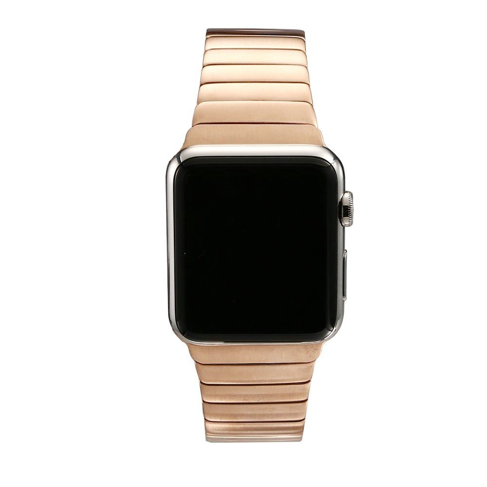 Image of   Apple Watch Rem 42-44mm Rustfri Stål m. Stifter - Rose Gold
