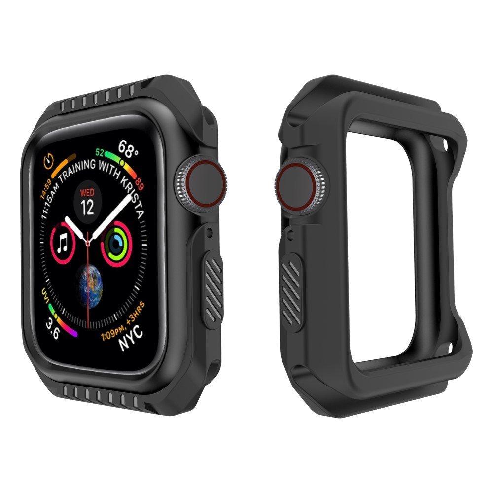 Image of   Apple Watch Cover 40mm - Fleksibel Plastik Cover - Sort