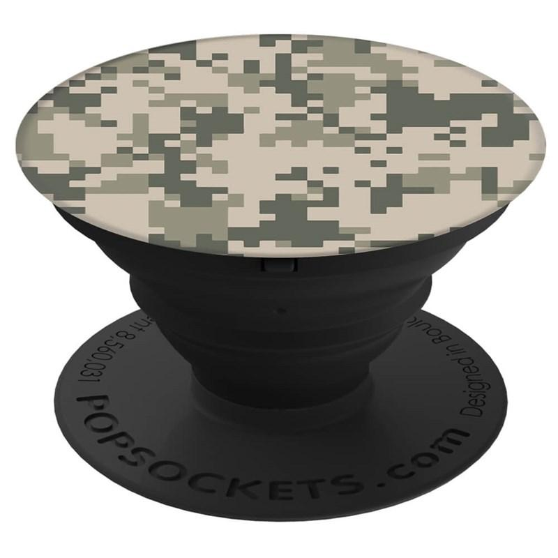 Image of   POPSOCKETS Digital Camo Holder og Stand